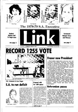 The Link Newspaper 1978-04-26