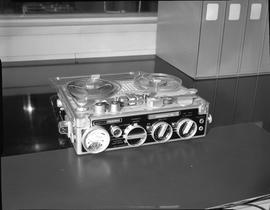 British Columbia Institute of Technology Broadcasting ; 1960s ; Nagra III portable audio recorder