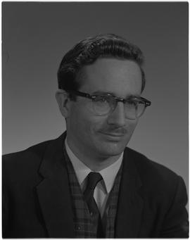Parker, Bob, Physics, Staff portraits 1965-1967 (E) [1 of 5 photographs]