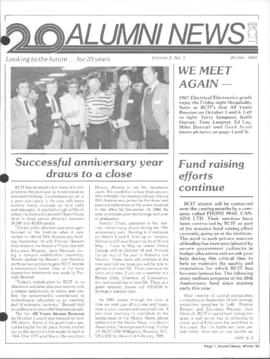 BCIT Alumni Association Newsletter 1984 Winter Alumni News
