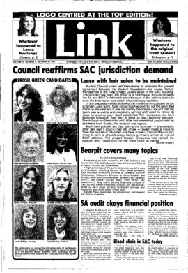 The Link Newspaper 1977-10-19