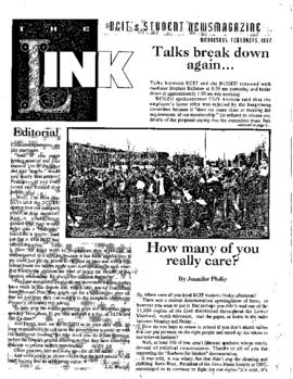 The Link Newspaper 1992-02-05