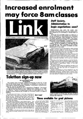 The Link Newspaper 1978-01-25