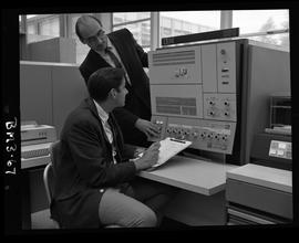 British Columbia Institute of Technology - program photographs - 1960's - Business Management, tw...