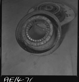 British Columbia Vocational School image of aircraft engine parts [4 of 9 photographs]