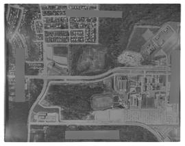 Aerial Photograph of BCIT and BCVS. Vertical Air photo. Burnaby Campus [1 of 2 photographs]