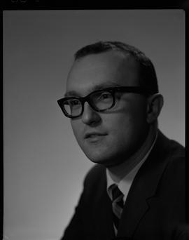 Wuhrer, Fred, Business Management, Staff portraits 1965-1967 (E) [2 of 5 photographs]