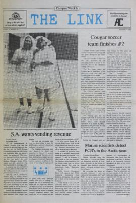 The Link Newspaper 1988-11-09