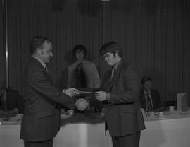 Student Scholarship Awards, BCIT, 1971 [45]
