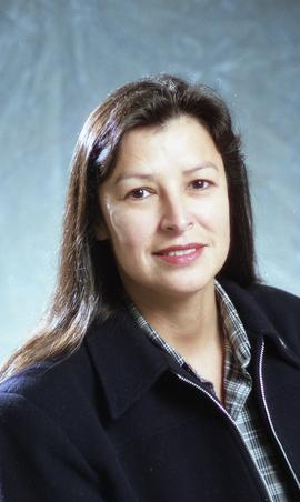 First Nations staff portraits, unnamed female 8 [6 of 8 photographs]
