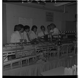 BCIT Historical Photographs; School Programs; 1960's; Forest Products Technology - 1971