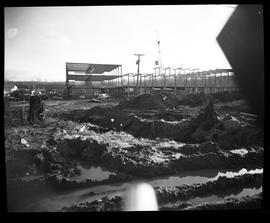 1960's Early construction of BCIT campus and buildings [9 of 21 photographs]