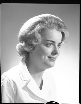 Devette, Jane, Medical Lab, Staff portraits 1965-1967 (E) [5 of 5 photographs]
