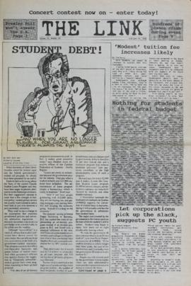 The Link Newspaper 1988-02-24