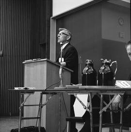 CVA Convention, 1969 ; man standing at a podium [2 of 6]