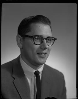 Riopel, R. (Dick), Business Management, Staff portraits 1965-1967 (E) [2 of 4 photographs]