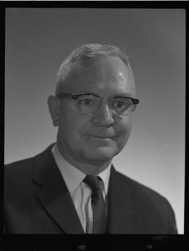 Huckvale, Dr., Physician, Staff portraits 1965-1967 (E) [1 of 5 photographs]