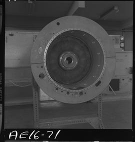 British Columbia Vocational School image of aircraft engine parts [6 of 9 photographs]