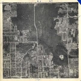 Aerial photograph of BCIT Burnaby Campus 1954
