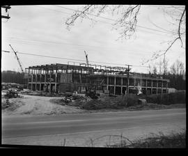 1960's Early construction of BCIT campus and buildings [4 of 21 photographs]