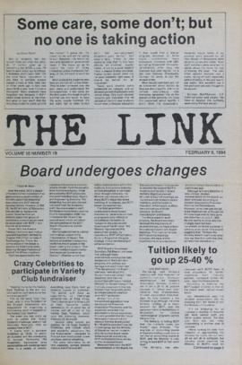 The Link Newspaper 1984-02-08