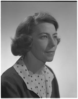 Rogers, Pat Noel, Radiology (X-Ray), Staff portraits 1965-1967 (E) [1 of 4 photographs]
