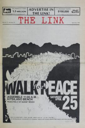 The Link Newspaper 1987-04-22