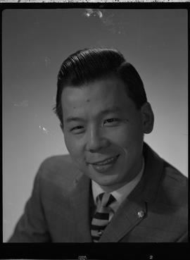 Liu, Ray, Chemistry and Metallurgy, Staff portraits 1965-1967 (E) [1 of 4 photographs]