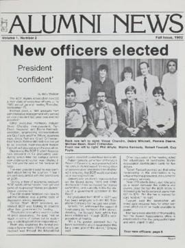 BCIT Alumni Association Newsletter 1982 Fall BCIT Alumni News