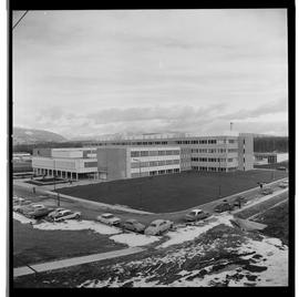 1960's Early construction of BCIT campus and buildings [15 of 21 photographs]