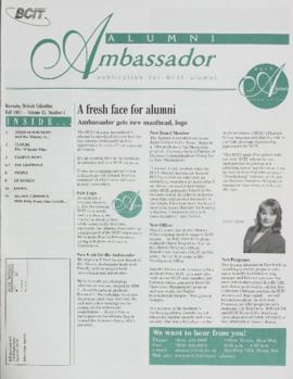 BCIT Alumni Association Newsletter 1997 Fall Alumni Ambassador