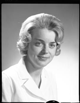 Devette, Jane, Medical Lab, Staff portraits 1965-1967 (E) [3 of 5 photographs]