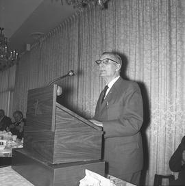 CVA Convention, 1969 ; man standing at a podium [5 of 6]
