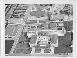 Aerial photograph of BCIT
