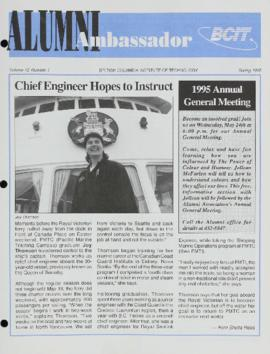BCIT Alumni Association Newsletter 1995 Spring Alumni Ambassador