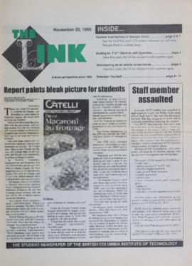 The Link Newspaper 1995-11-22