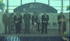 Open House 1998 - Government attendees on stage , including: Christie Clark [5 of 5 photographs]