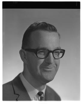 Cameron Barnetson, Chemistry, head shot, Staff portraits 1965-1967 (E) [2 of 4 photographs]