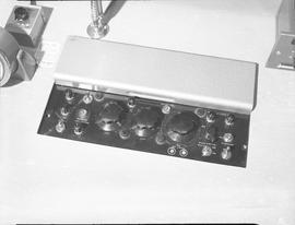 British Columbia Institute of Technology Broadcasting ; 1960s ; control board for audio and video