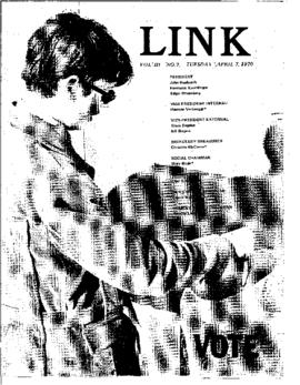 The Link Newspaper 1970-04-07