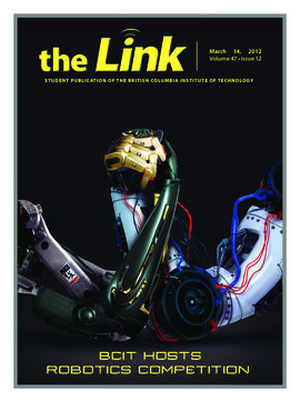 The Link Newspaper 2012-03-14
