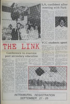 The Link Newspaper 1987-09-23