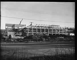 1960's Early construction of BCIT campus and buildings [7 of 21 photographs]
