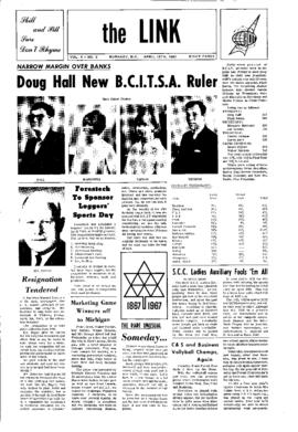 The Link Newspaper 1967-04-18