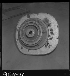 British Columbia Vocational School image of aircraft engine parts [1 of 9 photographs]