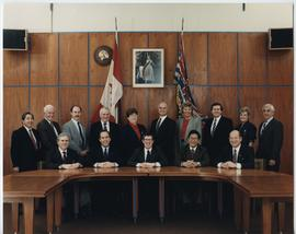 BCIT Board of Governors 1990-1991; Chairman - Wynne Powell; BCIT President - John Watson