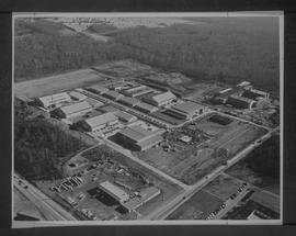 British Columbia Institute of Technology - Pacific Vocational Institute - aerial photograph - 196...
