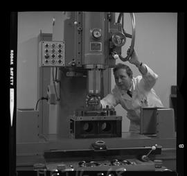 British Columbia Institute of Technology - program photographs - 1960's - Mechanical Technology