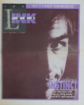 The Link Newspaper 1991-11-20