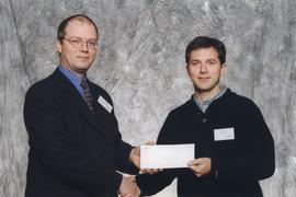 BCIT Alumni Association Entrance Awards, Oct. 27, 1999; Peter Jordan, presented by Kazamir Falcon...